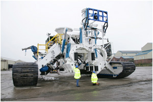 New Product Development, Product Support, Technical Leaderhsip - Tracked Trencher